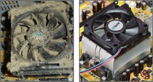 Before and After Cleaning Your Computer